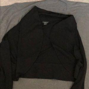 Sweaters - Black shrug